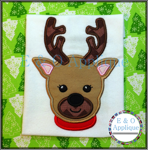 Reindeer Applique Design