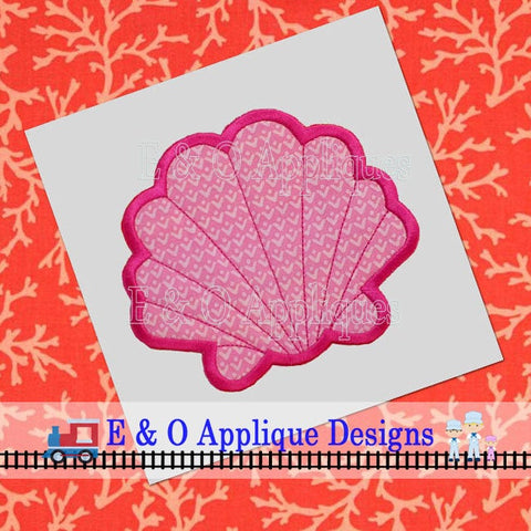 Seashell Applique Design