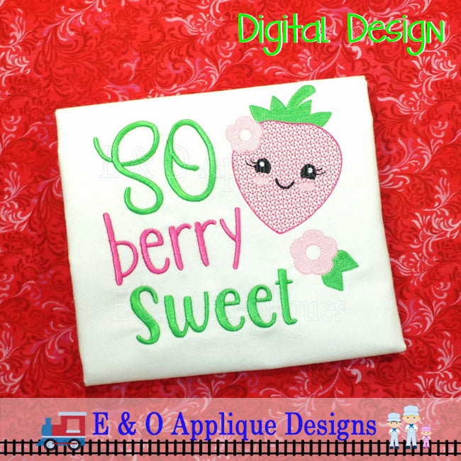So Berry Sweet Embroidery