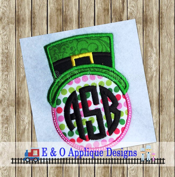 Leprechaun Monogram Applique Design