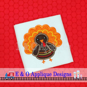 Chevron Turkey Applique