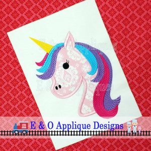 Unicorn Applique Design