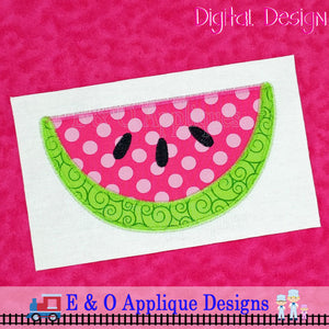 Watermelon Zig Zag Applique