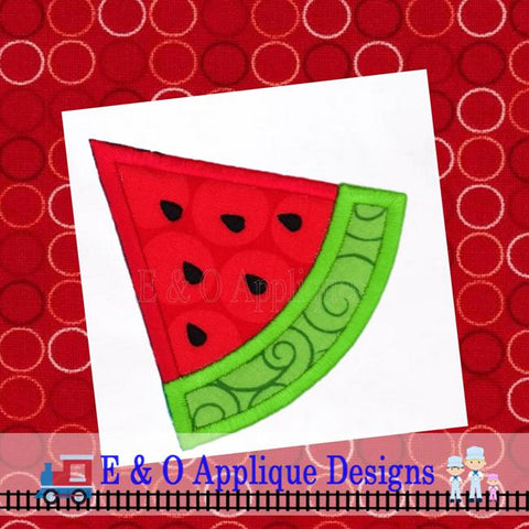 Watermelon Applique Design