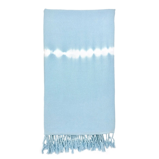 Sky Tie Dye Turkish Beach Towel