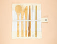 Reusable Bamboo Cutlery - Set of 5