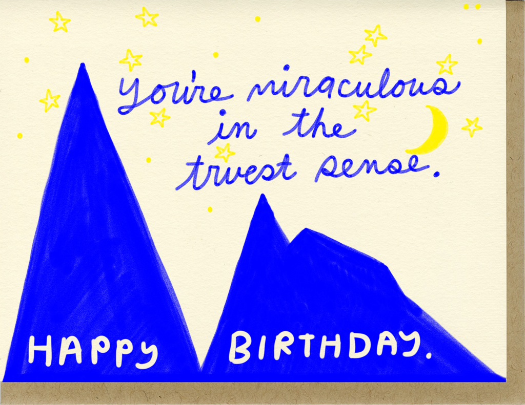 Miraculous Birthday - Card