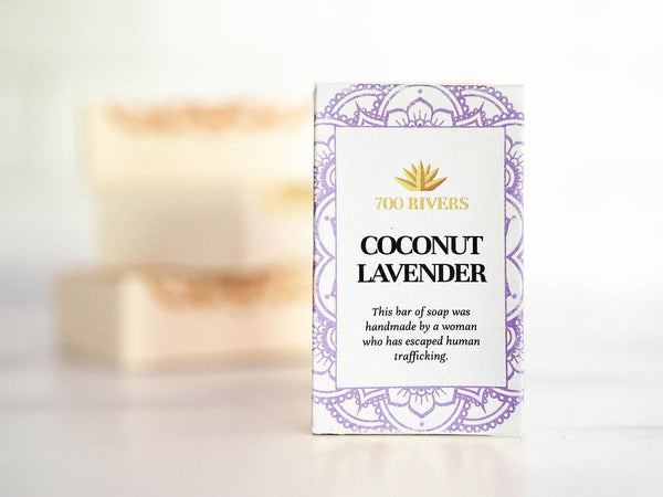 Coconut Lavender Soap Bar