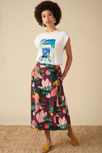 Jenna Wrap Skirt