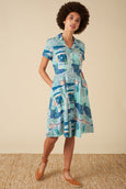 Kate Shirt Dress - Le Maroc