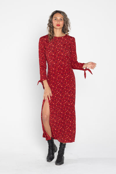 Kate Dress - Terrazzo Chili