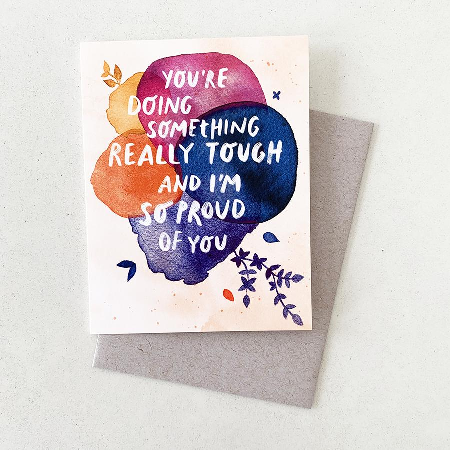 I'm So Proud of You - Card