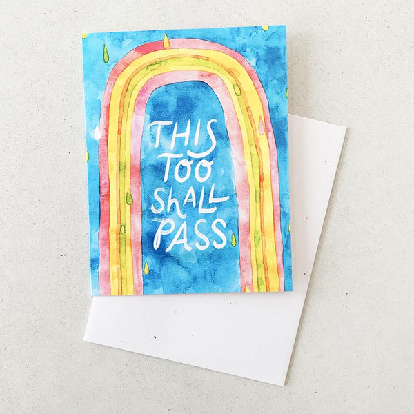 This Too Shall Pass - Card