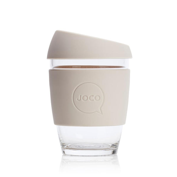 JOCO Glass Coffee Cup - Sandstone