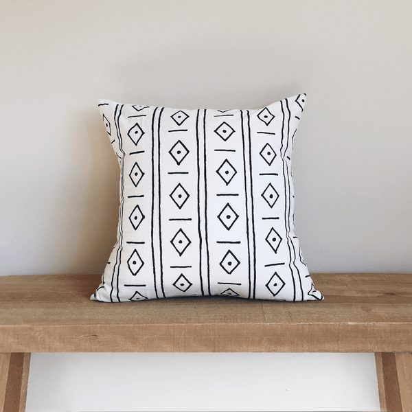 Diamonds Organic Cotton Pillow