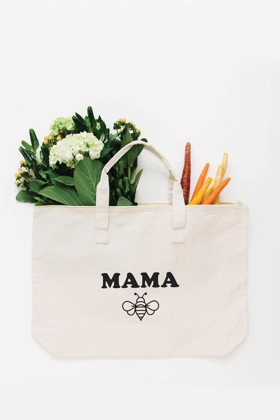 Mama Bee Tote Bag - Large