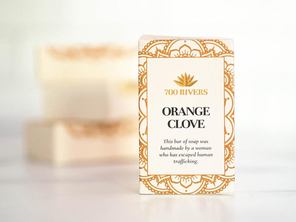 Orange Clove Soap Bar
