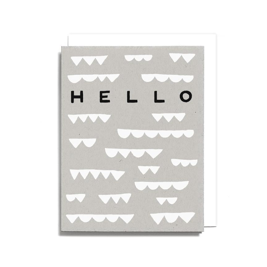Hello Shapes - Card