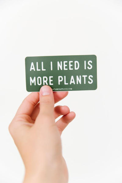 More Plants Sticker