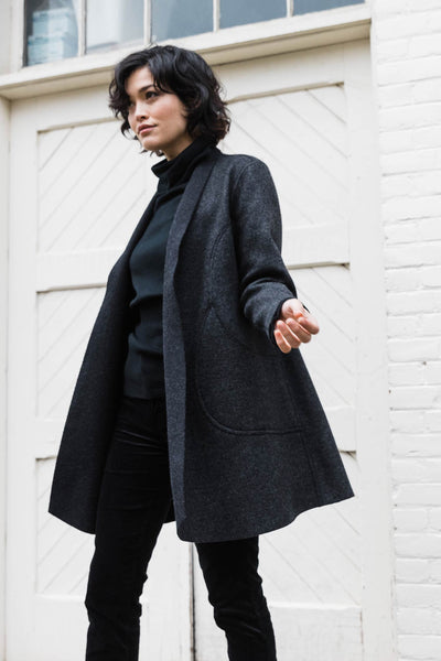 Alpaca Reversible Coat