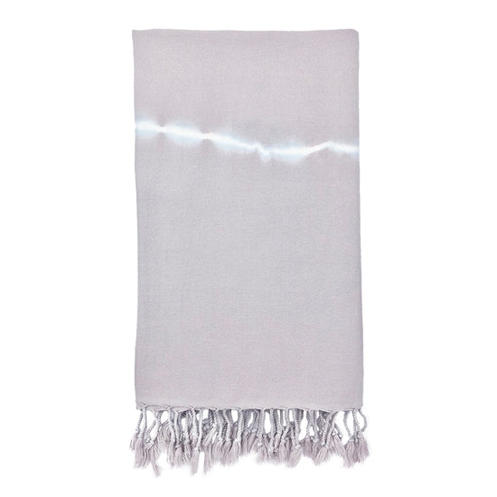 Lavender Tie Dye Turkish Beach Towel
