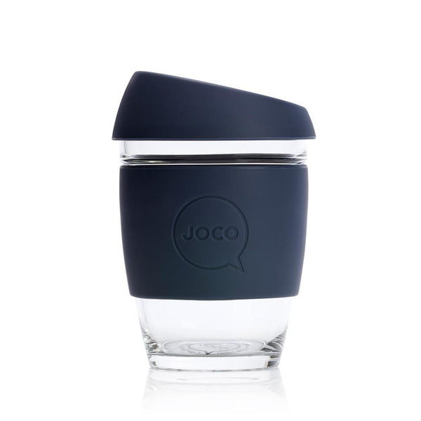 Joco Glass Coffee Cup - Mood Indigo