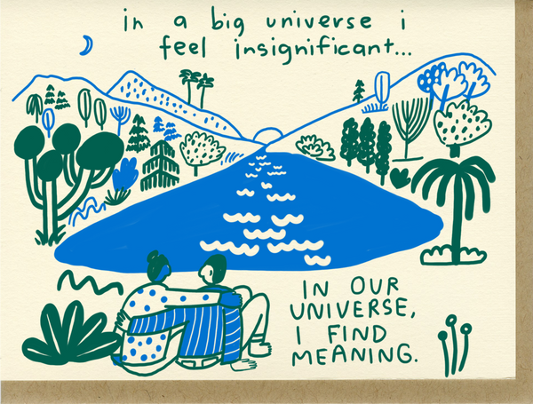 In Our Universe - Card