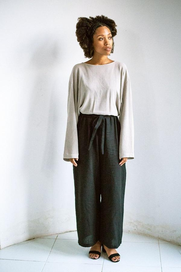 Relaxed Basic Top - Slate