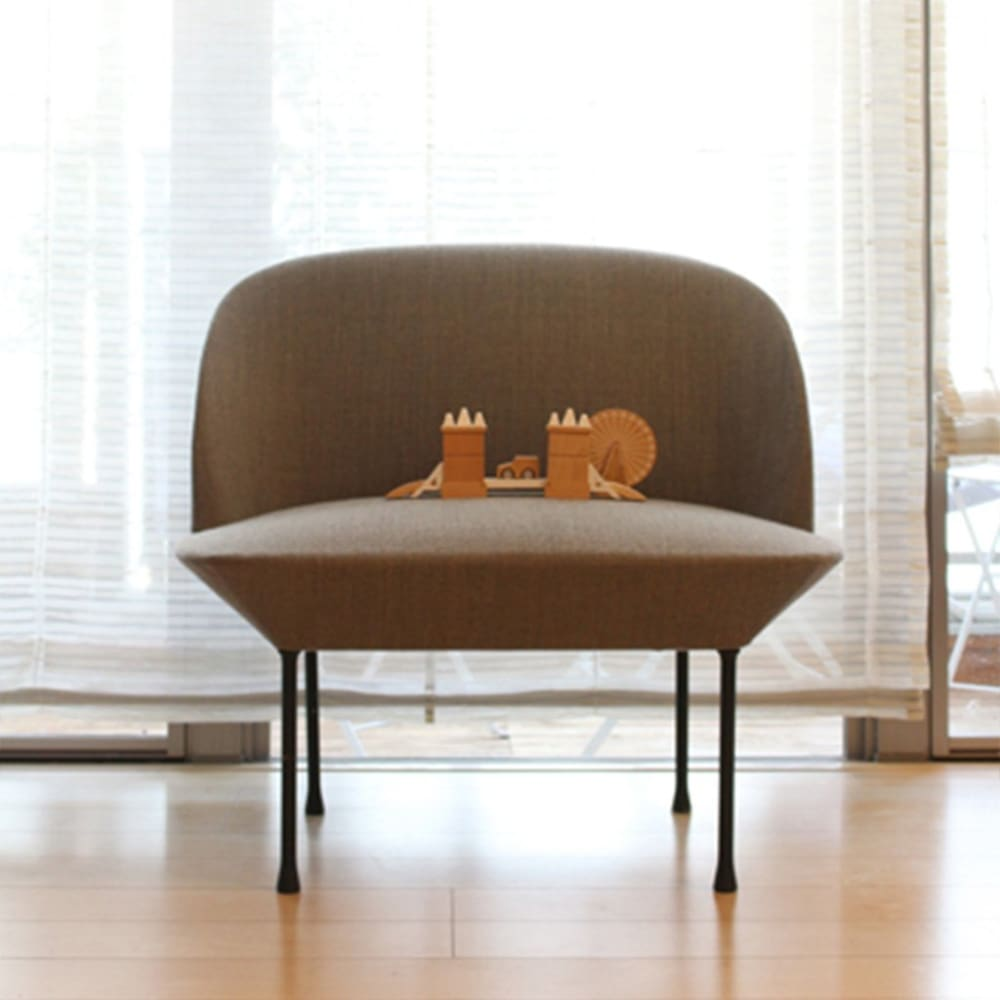 1seater oslo chair【MUUTO】 - kiko+ and gg*