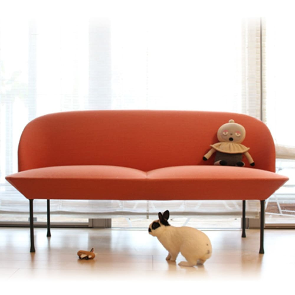 2seater oslo chair【MUUTO】 - kiko+ and gg*