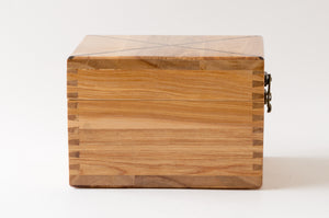 The Weekend Toker | Single Strain Oak Stash Box with Walnut Inlay | Weed Box | StashhBox | (SE)