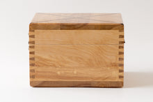 Load image into Gallery viewer, The Weekend Toker | Single Strain Oak Stash Box with Walnut Inlay | Weed Box | StashhBox | (SE)