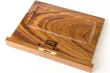 Load image into Gallery viewer, The Daily Toker | 3-Strain Maple and Walnut Wood Stash Box | Lock | Wooden Weed Box | StashhBox