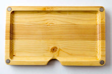 Load image into Gallery viewer, Magnetic pine wood rolling tray