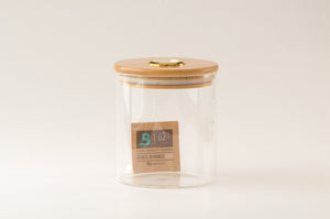 Large StashhJar | High-End Cannabis Stash Jar | Built-in Hygrometer