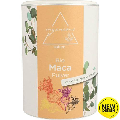 ingenious nature® Bio Maca Pulver Mix - ingenious nature