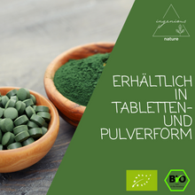 Laden Sie das Bild in den Galerie-Viewer, Bio Spirulina Pulver - ingenious nature