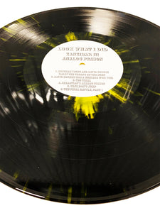"Look What I Did ""Zanzibar"" LP - Yellow Splatter"