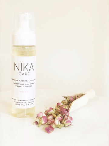 Foaming Rose Facial Cleanser