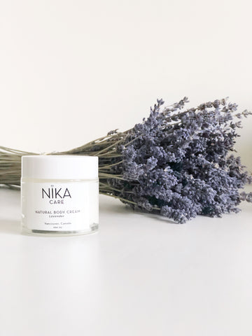 Natural Body Cream - Lavender  60ml