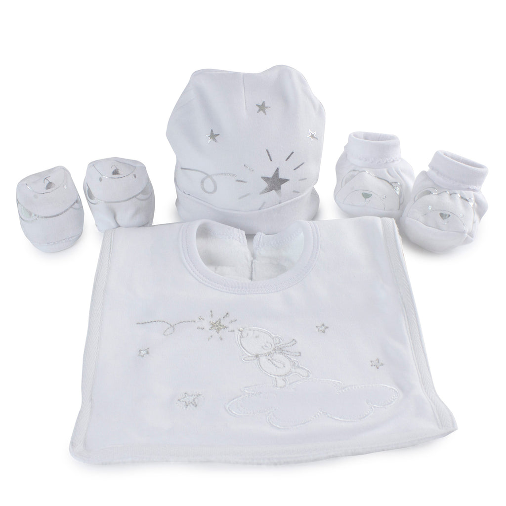 Wish Upon a Star Newborn 4pc Layette Gift Set - Bubba Blue Australia