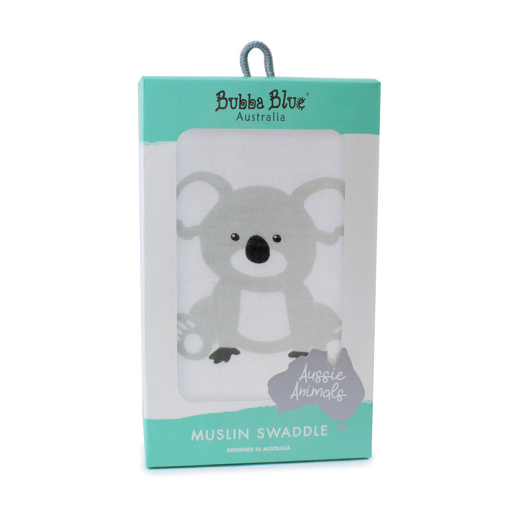 Aussie Animals Koala Muslin Wrap - Bubba Blue Australia
