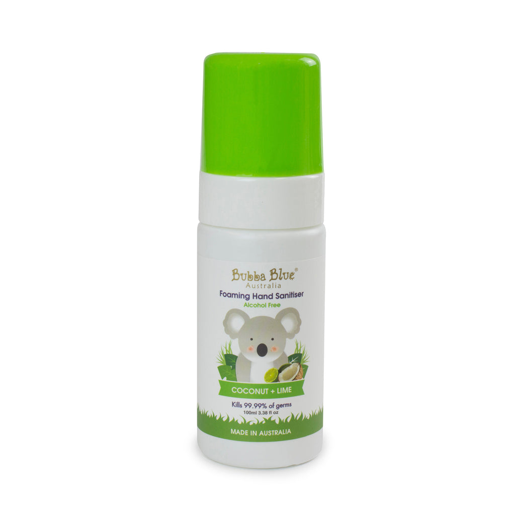 Alcohol Free Coconut + Lime Hand Sanitiser 100ml