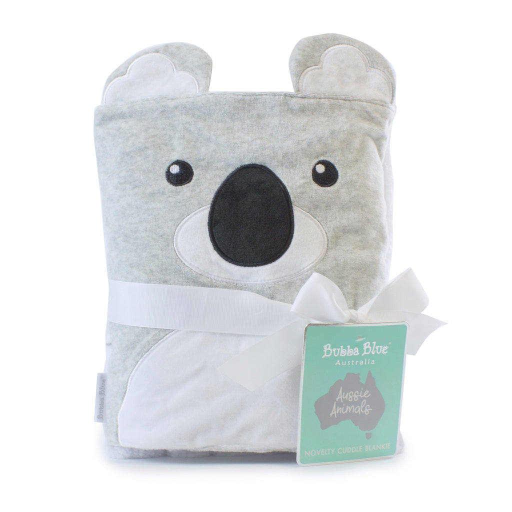 Aussie Animals Koala Novelty Blankie - Bubba Blue Australia