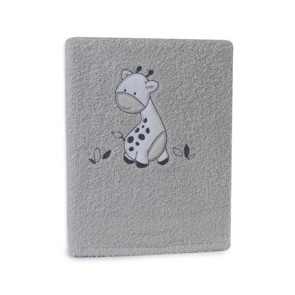 Grey Playtime Bath Towel - Bubba Blue Australia
