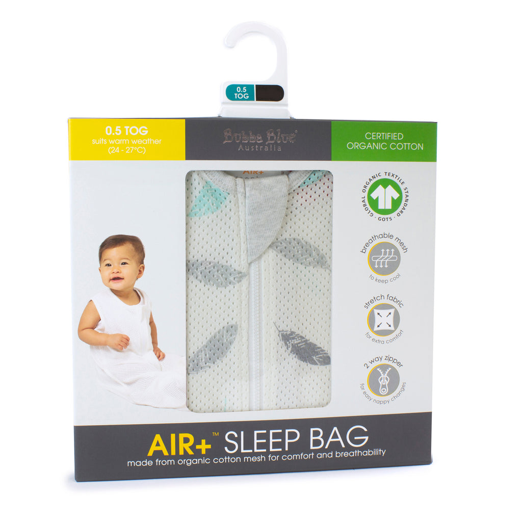 Buy One Get One Free Air+ Sleep Bag Feather - Bubba Blue Australia