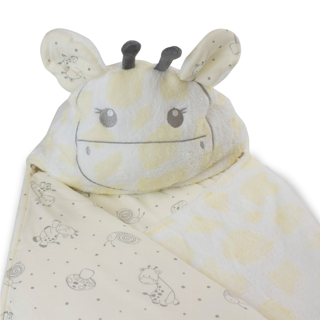 Vanilla Playtime Hooded Novelty Blanket - Bubba Blue Australia