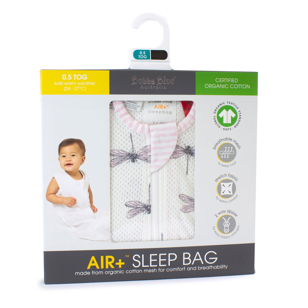 Buy One Get One Free Air+ Sleep Bag Dragonfly - Bubba Blue Australia