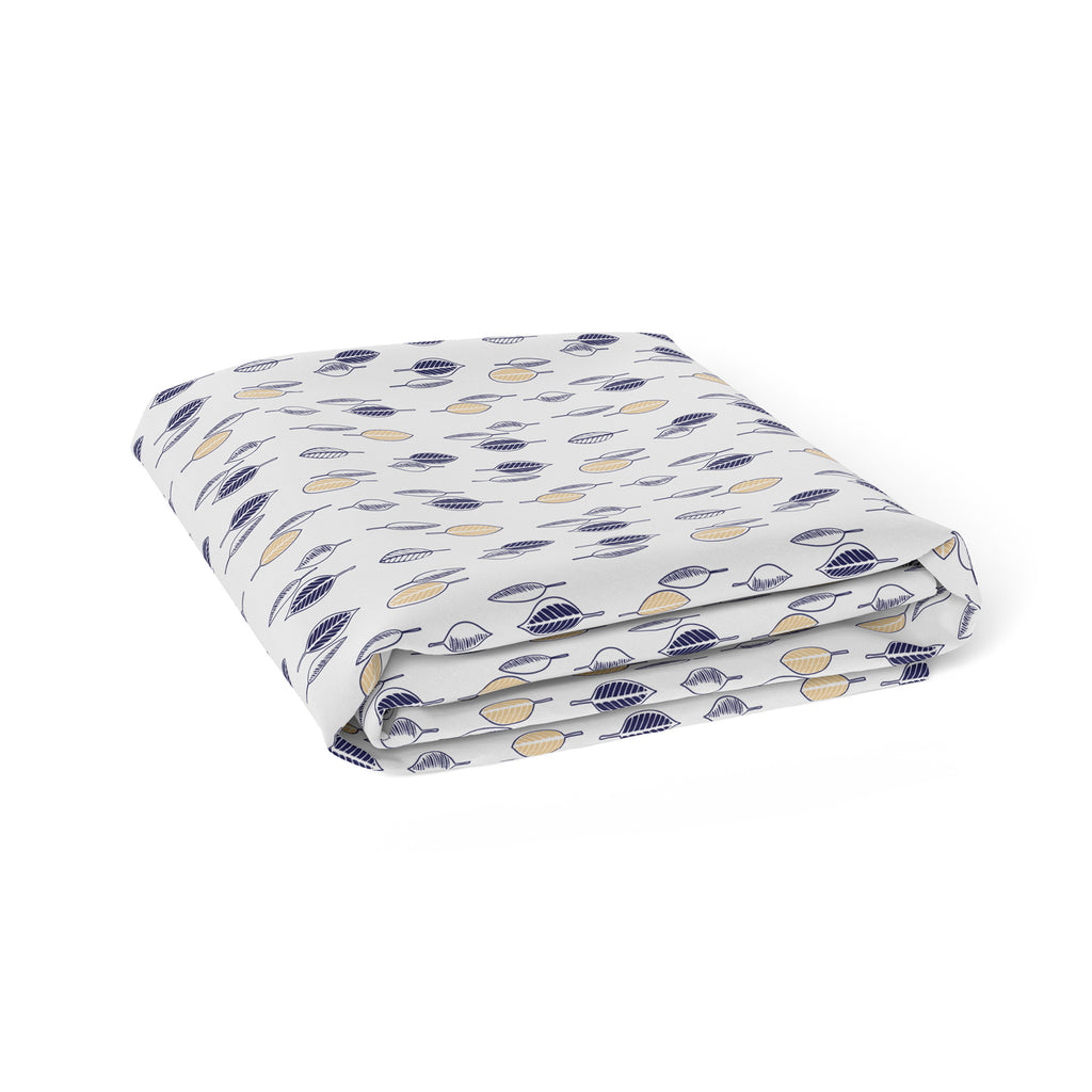 Night Sky Bamboo Jersey Bassinet Fitted Sheet - Bubba Blue Australia