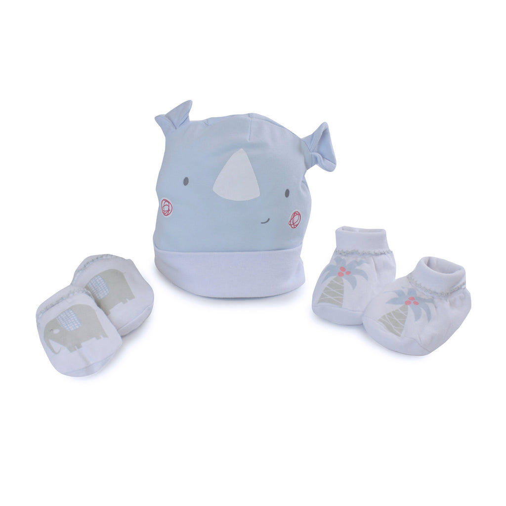 Rhino Run 3 Piece Newborn Set - Bubba Blue Australia